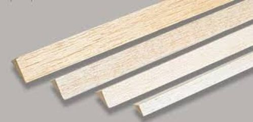 Balsa triangle 6x6x1000mm