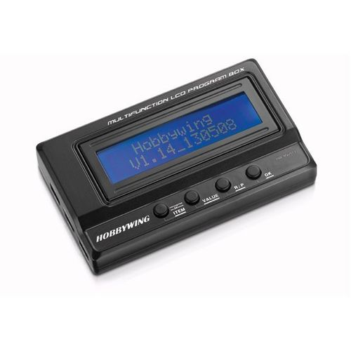 HOBBYWING PROFESSIONAL LCD PROGRAM BOX